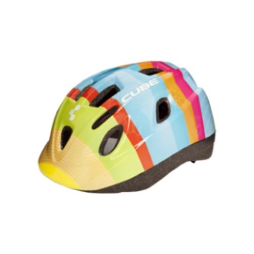CUBE Παιδικό κράνος Princess - Πολύχρωμο (48-52cm) Δαλαβίκας bikes