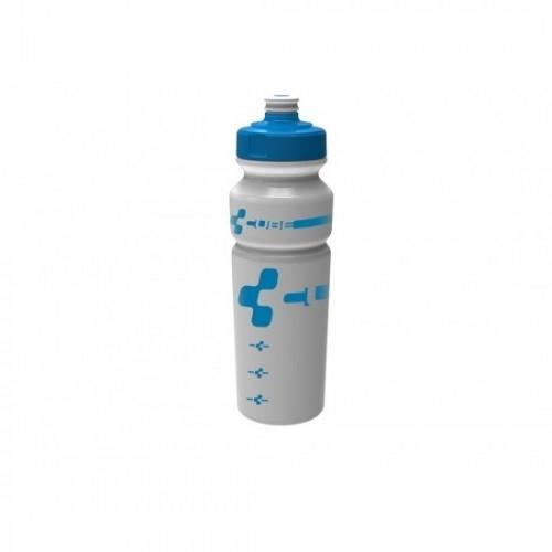 CUBE Bottle 0,75l Logo white/blue 13020