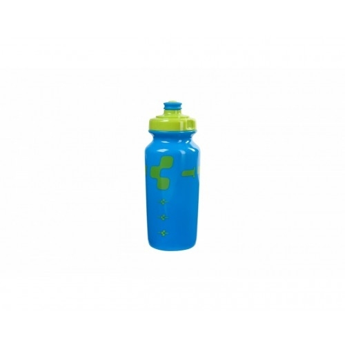 CUBE Bottle 0,5l Logo lime/blue-13021