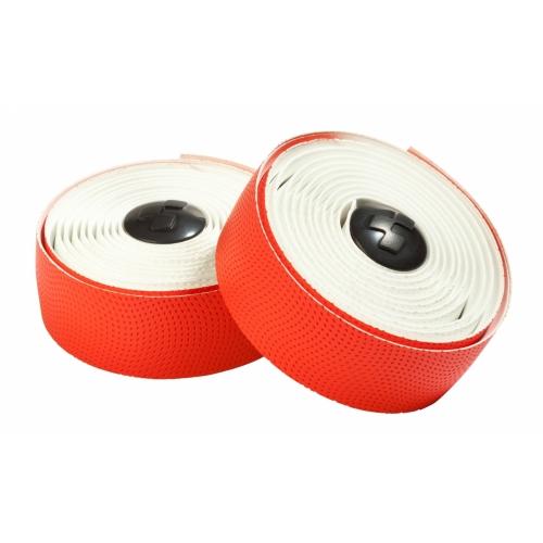 Ταινία τιμονιού κούρσας Cube Bar Tape White & Red - 11860