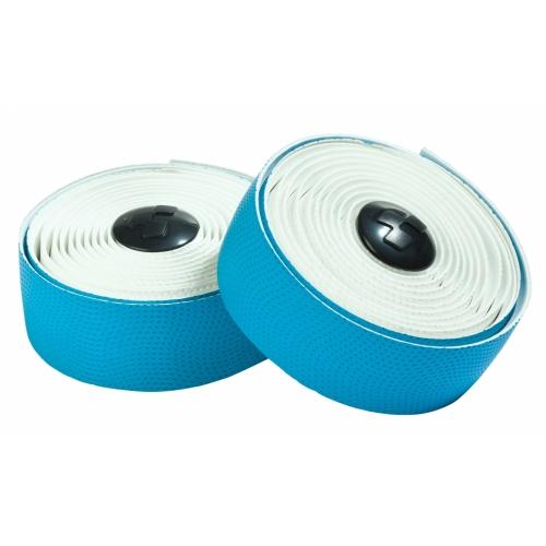 Ταινία τιμονιού δίχρωμη Cube Bar Tape White & Blue - 11861