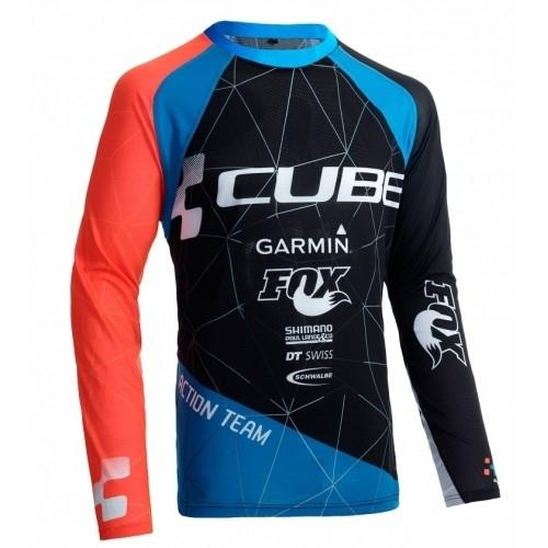 Μπλούζα με μακρύ μανίκι Cube Action Roundneck Jersey Team L/S