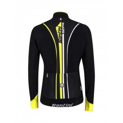Santini Vega Acquazero yellow- Ποδηλατικό μπουφάν Δαλαβίκας bikes
