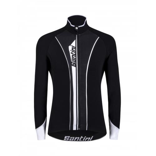 Santini Vega Acquazero White- Ποδηλατικό αδιάβροχομπουφάν Δαλαβίκας bikes