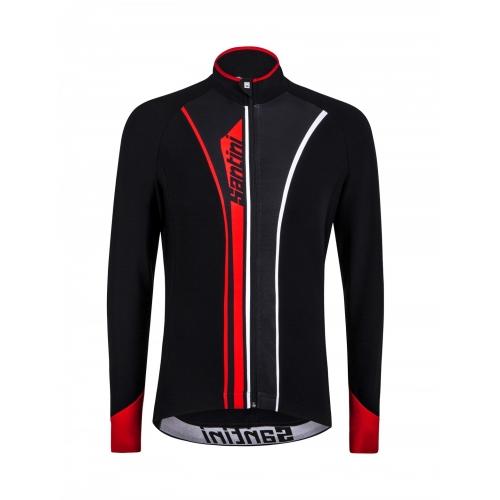 Santini Vega Acquazero red - Ποδηλατικό αδιάβροχο μπουφάν Δαλαβίκας bikes