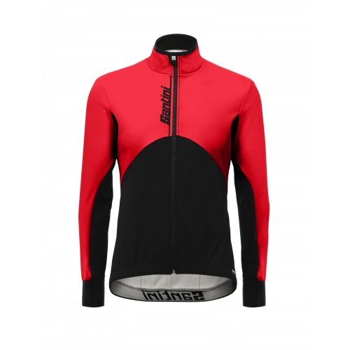 Santini Impero Jacket red -Ποδηλατικό χειμερινό μπουφάν Δαλαβίκας bikes