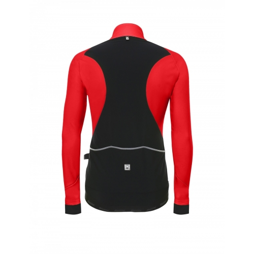 Santini Polar Winter Jacket red- Ποδηλατικό χειμερινό μπουφάν Δαλαβίκας bikes