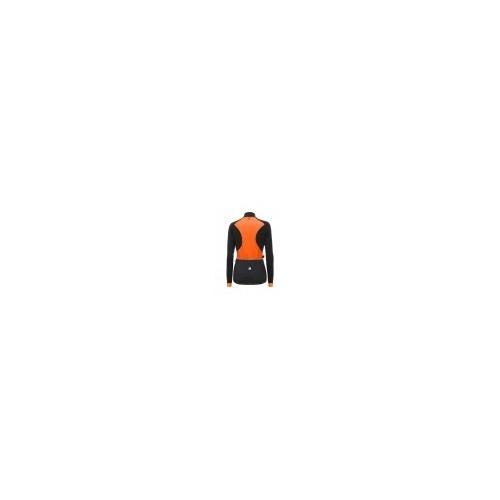 Santini Coral Jacket Orange -Ποδηλατικό χειμερινό γυναικείο αδιάβροχο μπουφάν Δαλαβίκας bikes