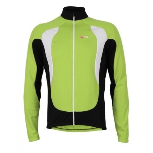 Bicycle Line Dual Verde χειμερινή μπλούζα