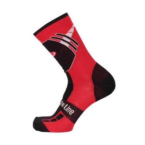 Bicycle Line Shaun red χειμερινές κάλτσες