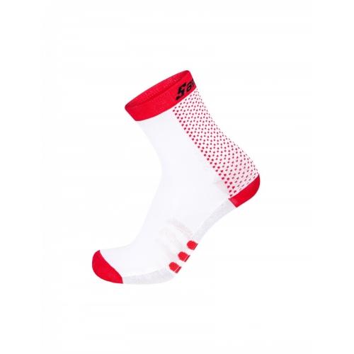 Santini two red ποδηλατική κάλτσα
