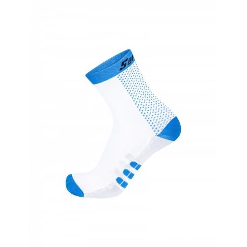 Santini two blue ποδηλατική κάλτσα