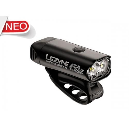 Lezyne μαύρο Micro Drive XL φως 450 lumens