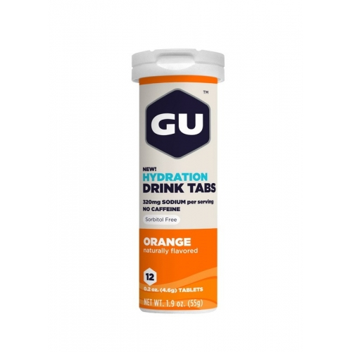 Gu Hydration Drink Tabs Orange Δαλαβίκας bikes