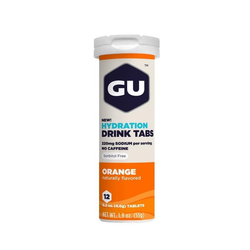 Gu Hydration Drink Tabs Orange Dalavikas bikes