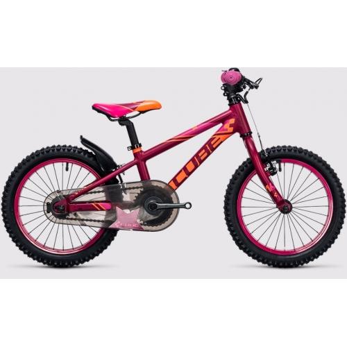Cube Kid 160 girl berry & pink Παιδικό Ποδήλατο