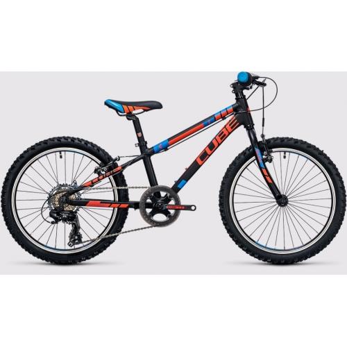 Cube Kid 200 black & flashred & blue Παιδικό Ποδήλατο