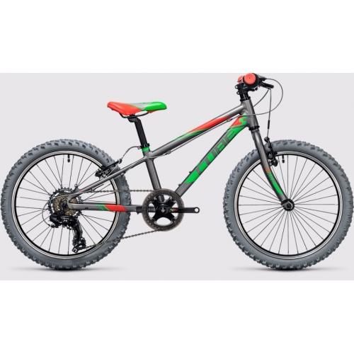 Cube Kid 200 grey & green Παιδικό Ποδήλατο