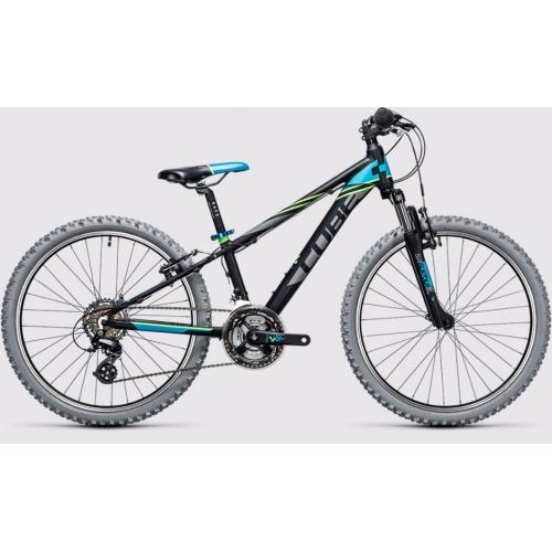 Cube Kid 240 black & blue Παιδικό Ποδήλατο