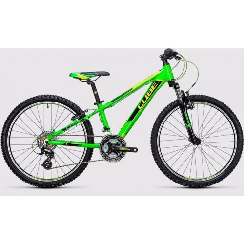 Cube Kid 240 black & green Παιδικό Ποδήλατο