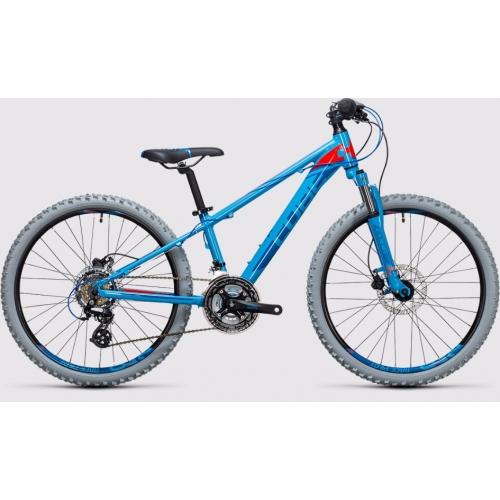 Cube Kid 240 Disc blue & flashred Παιδικό Ποδήλατο