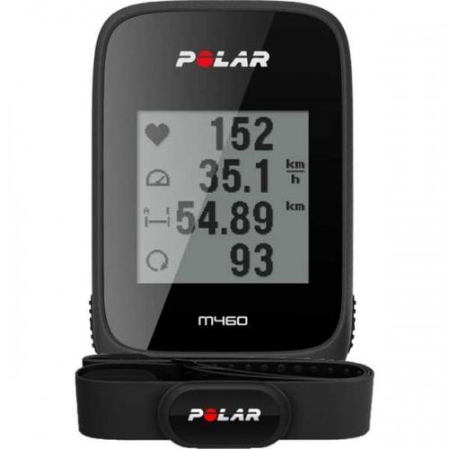 Polar M460 HR κοντέρ ποδηλάτου, παλμογράφος GPS, συμβατό με power meter