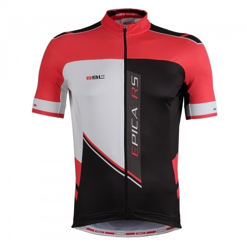 Bicycle Line ποδηλάτική μπλούζα με κοντό μανίκι Epica RS κόκκινη