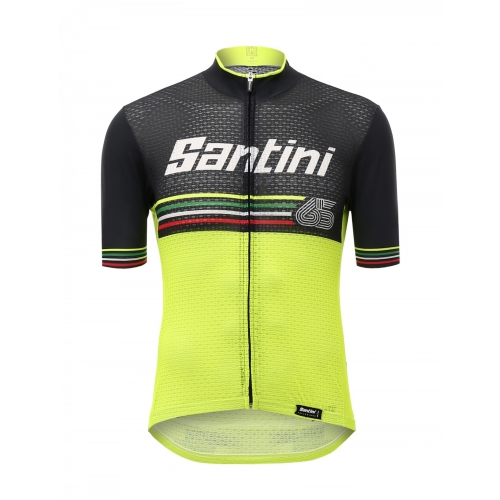 SANTINI BEAT - S/S JERSEY YELLOW ποδηλατική μπλούζα