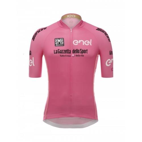 SANTINI GIRO D'ITALIA 2017 - Pink Jersey Ποδηλατική μπλούζα Δαλαβίκας bikes