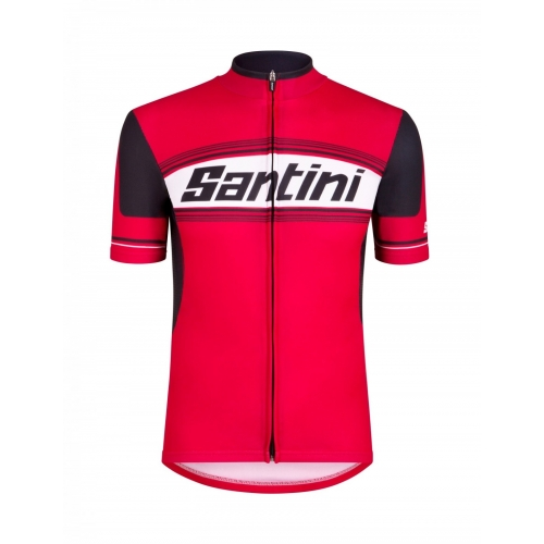 SANTINI TAU Ποδηλατικό μπλουζάκι red