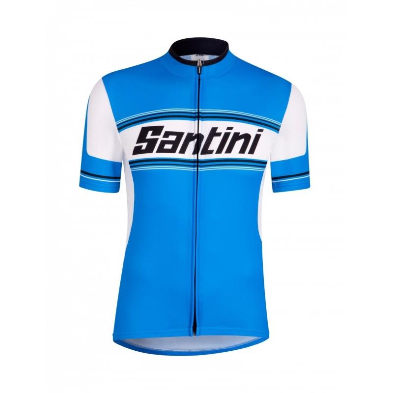 SANTINI TAU Ποδηλατικό μπλουζάκι blue Dalavikas bikes