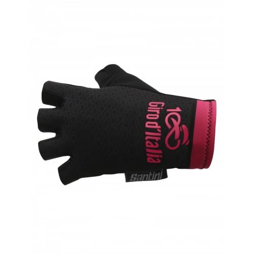 SANTINI MAGLIA NERA - Summer Gloves- ποδηλατικά γάντια