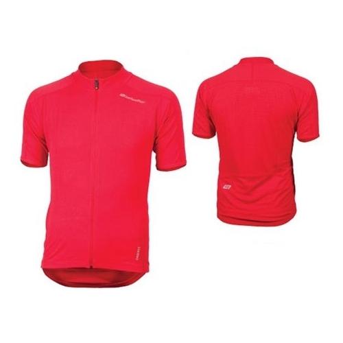 Bellwether Criterium Jersey ποδηλατική μπλούζα κόκκινη/κίτρινη