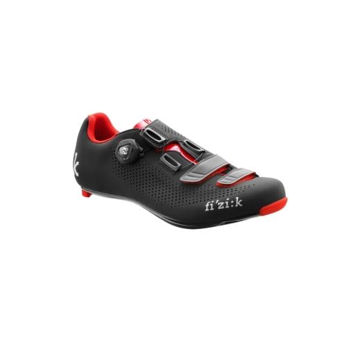 Παπούτσια Fizik R4B Uomo (Δώρο πετάλια SPD VP-R76 LOOK KEO) - Black Red