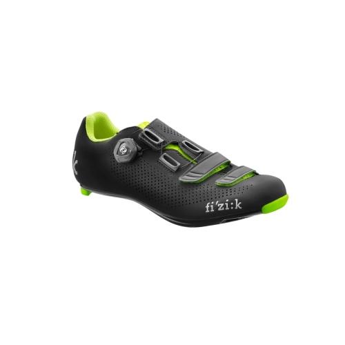 Παπούτσια Fizik R4B Uomo (Δώρο πετάλια SPD VP-R76 LOOK KEO) - Black Yellow