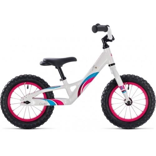 Παιδικό Ποδήλατο Cube Cubie 120 Walk Girl White-Pink - 2019