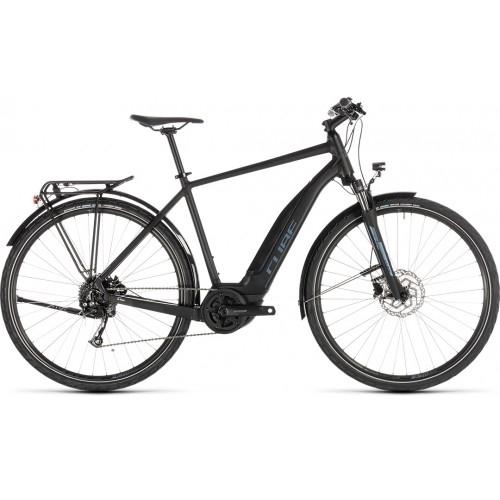 Ηλεκτρικό Ποδήλατο Cube Touring Hybrid One 400 Black-Blue - 2019