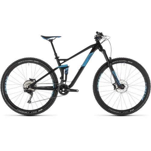 "Ποδήλατο Downhill Cube Stereo 120 Race 29"" Black-Blue - 2019"