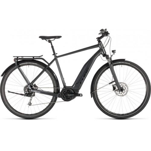 Ηλεκτρικό Ποδήλατο Cube Touring Hybrid 400 Iridium-Black - 2019