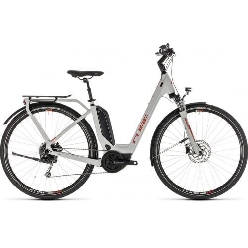 Ηλεκτρικό Ποδήλατο Cube Touring Hybrid Easy Entry 400 Grey-Orange - 2019