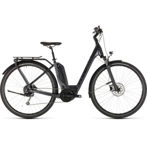 Ηλεκτρικό Ποδήλατο Cube Touring Hybrid Easy Entry 400 Iridium-Black - 2019