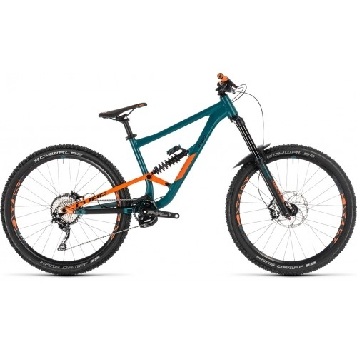 "Ποδήλατο Downhill Cube Hanzz 190 Race 27.5"" Pinetree-Orange - 2019"
