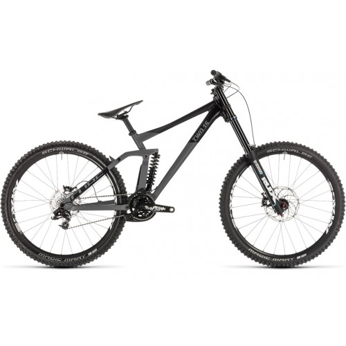 "Ποδήλατο Downhill Cube Two 15 Race 27.5"" Grey-Black - 2019"