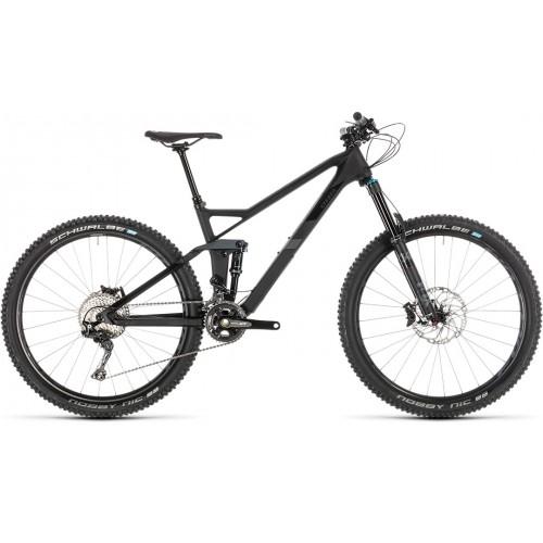 """Ποδήλατο Downhill Cube Stereo 140 HPC SL 27.5"""" Carbon-Grey - 2019"""