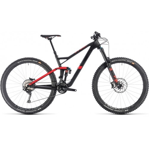 "Ποδήλατο Downhill Cube Stereo 150 C:62 Race 29"" Carbon-Red - 2019"