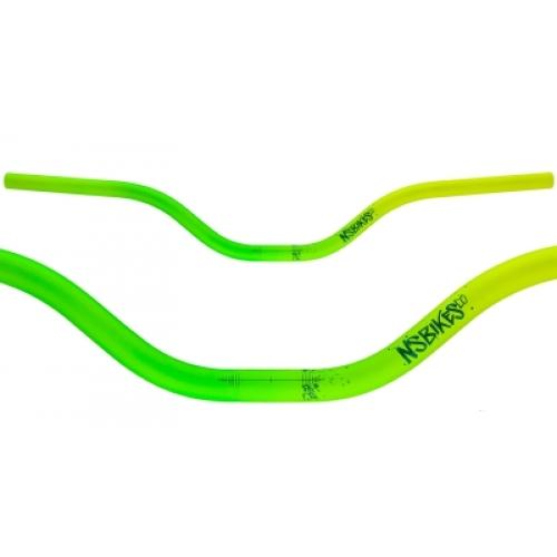 Τιμόνι NS Bikes PROOF 25.4mm - Lemon Lime