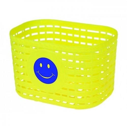 Παιδικό καλάθι Smile Κίτρινο Δαλαβίκας bikes