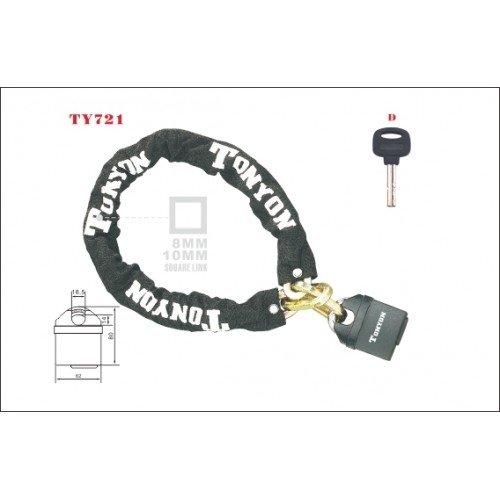 Κλειδαριά ποδηλάτου- TONYON Model TY721