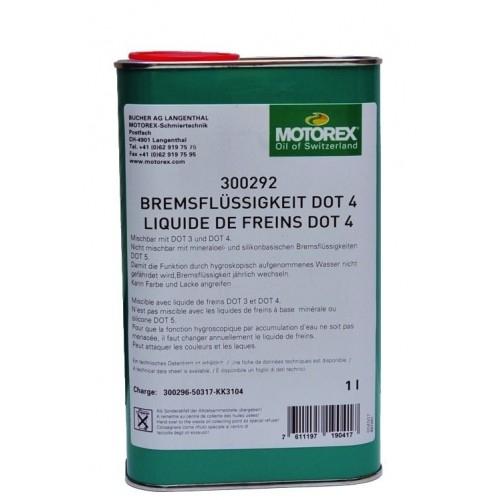 DOT 4 Motorex Υγρό υδραυλικών δισκοφρένων 1 lt