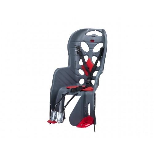Παιδικό κάθισμα ποδηλάτου HTP Fraach - Σκελετού - Γκρι